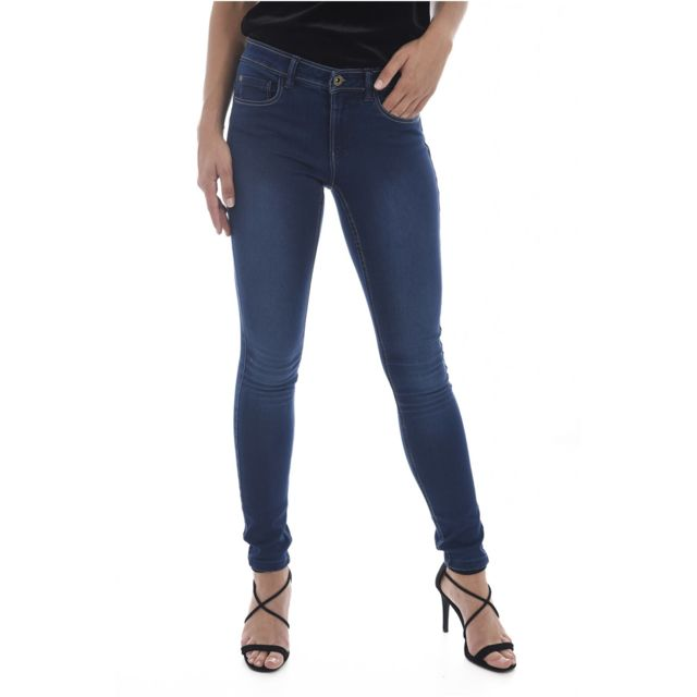 Only - Jean Skinny Stretch Seconde Peau Soft Ultimate - pas cher Achat   Vente  Jeans femme - RueDuCommerce 0070d5f0042f