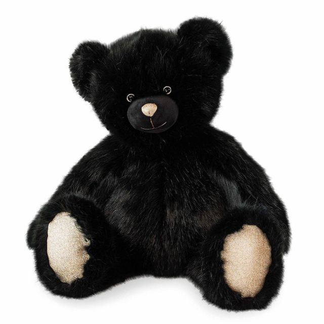Doudou Et Compagnie Peluche ours 80 cm noir