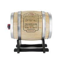 Totally Addict - Distributeur de vin tonneau 3L « Le caviste