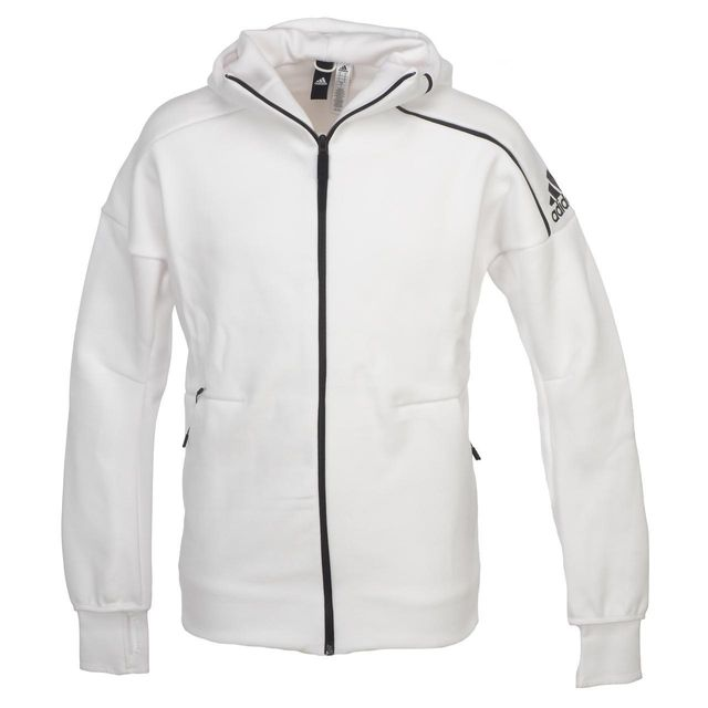 Adidas performance Vestes sweats zippés capuche Zne white