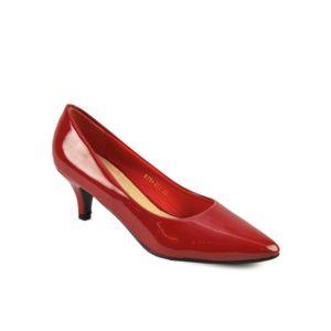 modanana escarpins vernis petit talon rouge bordeaux pas cher achat vente escarpins. Black Bedroom Furniture Sets. Home Design Ideas