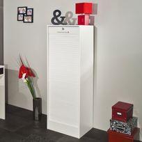 - Classeur à rideaux en bois Hauteur 106 cm