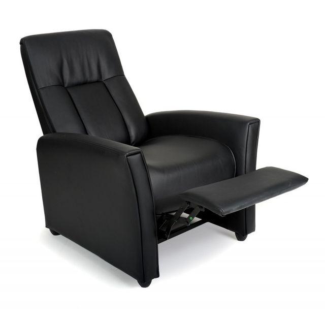 Paris Prix Fauteuil de Relaxation Ayana 86-150cm Noir