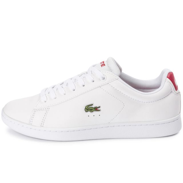 Lacoste , Carnaby El Blanche Et Rouge