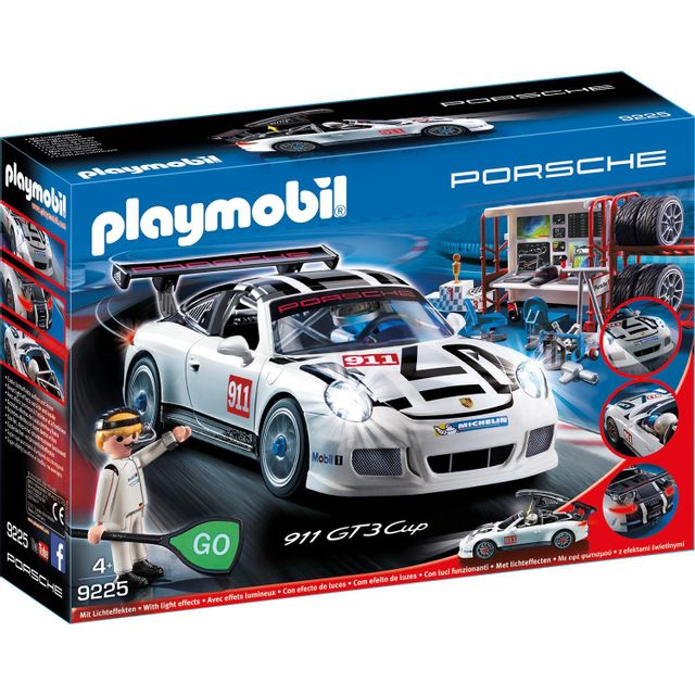 playmobil 9225 sports et action porsche 911 gt3 cup. Black Bedroom Furniture Sets. Home Design Ideas