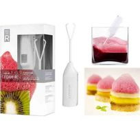 Touslescadeaux - Kit Coffret de Cuisine Moléculaire - Mousses de Saveurs - avec Recettes
