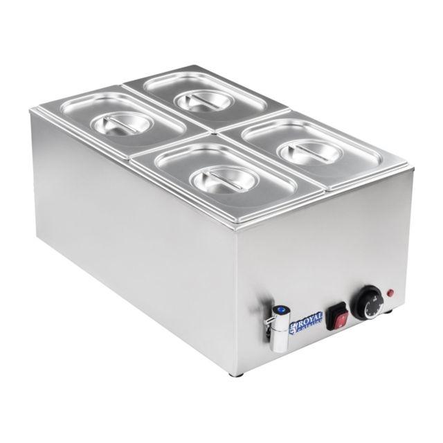 Autre Bain-marie électrique professionnel bac Gn 1/4 avec robinet de vidange 1 200 watts 3614106