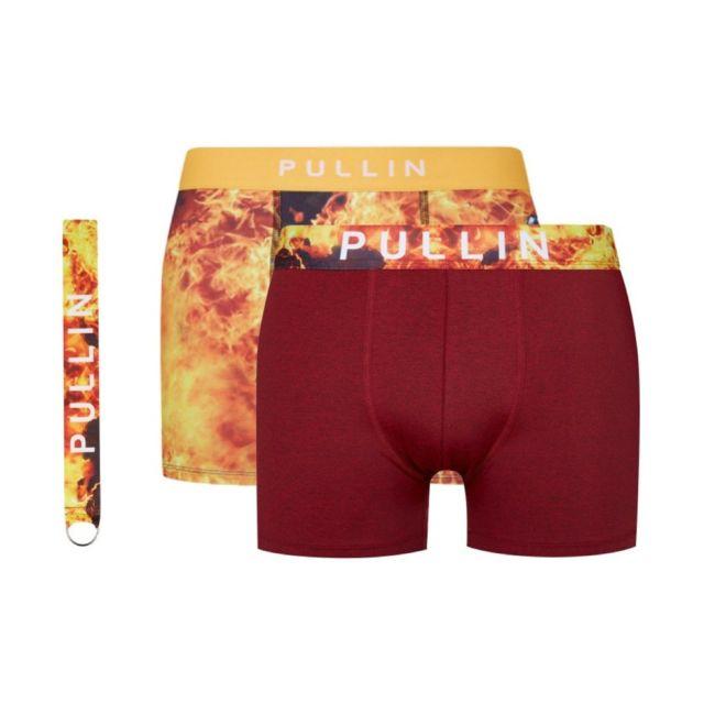 Pull-in - Coffret cadeau 2 boxer + porte clé Master lycra homme ... b6eac92ea63e