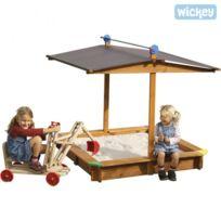 Wickey - Bac à sable Mickey avec toit mobile Gaspo