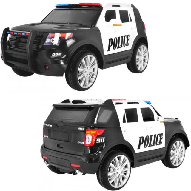 voiture electrique 4x4 voiture lectrique police sh rif. Black Bedroom Furniture Sets. Home Design Ideas