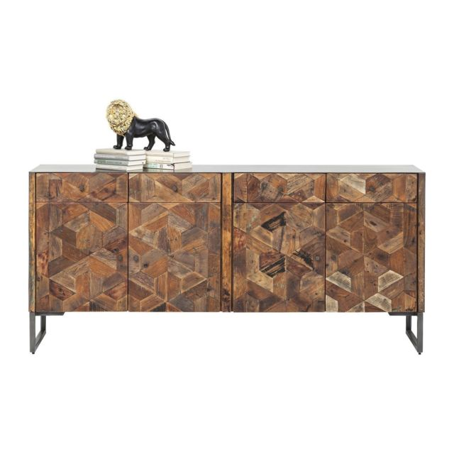 Karedesign Buffet Hunters Lodge 4 portes, 4 tiroirs Kare Design