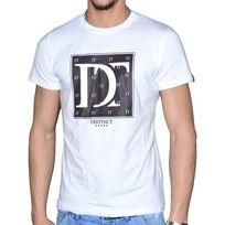 Distinct By Rohff - Distinct - T Shirt Manches Courtes - Homme - Elitiste - Blanc