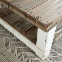 taille 40 3b18b 816f0 Table basse bois vieilli - catalogue 2019/2020 - [RueDuCommerce]
