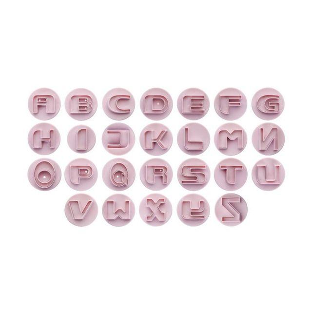 Ibili Emporte Pieces Avec Poussoir Alphabet 26