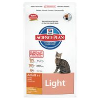 Hill'S - Science Plan - Croquettes Light au Poulet pour Chat - 1,5Kg