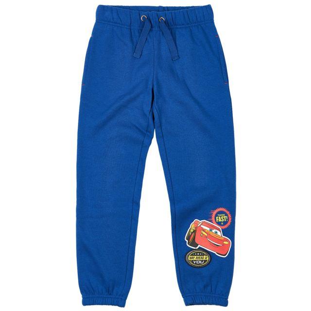 c1e79597353f2 Disney - Cars Garcon Pantalon de jogging Bleu - pas cher Achat / Vente  Survêtement enfant - RueDuCommerce
