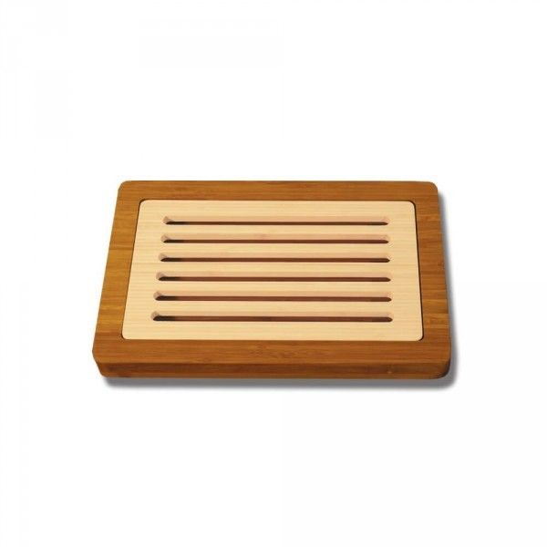 Totally Bamboo Planche à pain bicolore - 24x37cm - garantie 5 ans