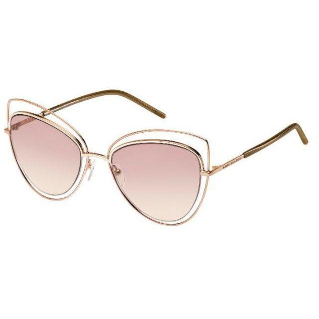 0cb36cd5896aa9 Marc Jacobs - Lunettes de soleil femme Marc8 S Rose Noir - pas cher Achat    Vente Lunettes Tendance - RueDuCommerce
