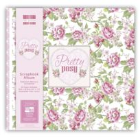 First Edition Paper - Album Scrapbooking 20 pages 30,5cm Pretty Posy