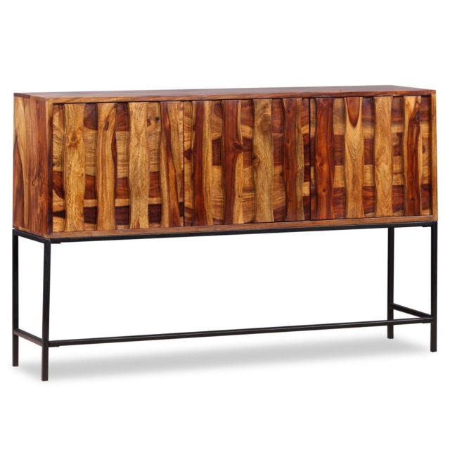 Icaverne - Buffets et bahuts famille Buffet Bois massif de Sesham 120 x 30 x 80 cm