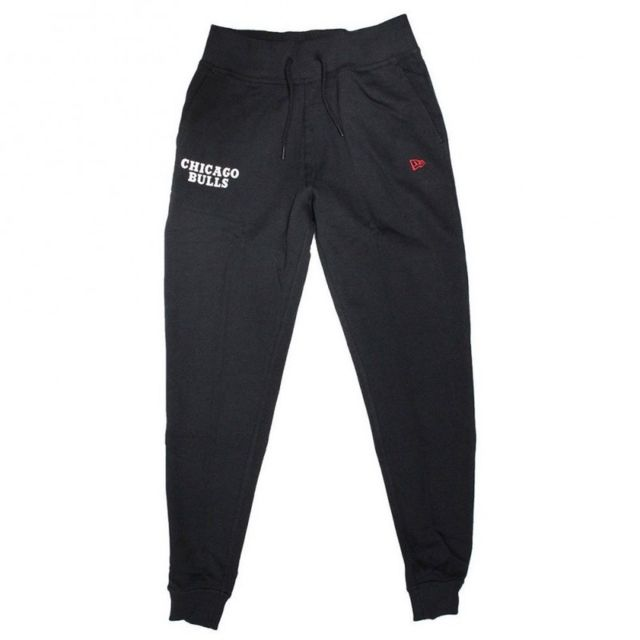 New Era Pantalon Nba Chicago Bulls Team Apparel Jogger Noir pour Homme Taille - M
