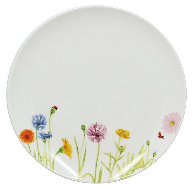 Lebrun Assiette plate 27 cm Floralies