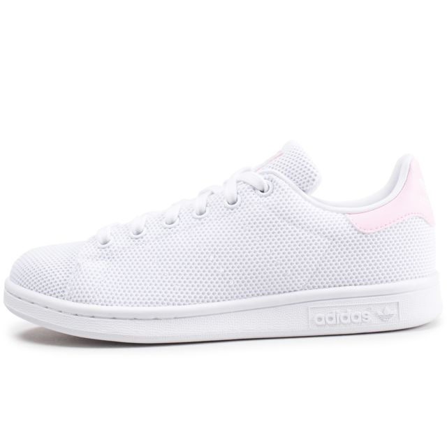 stan smith blanc rose pale