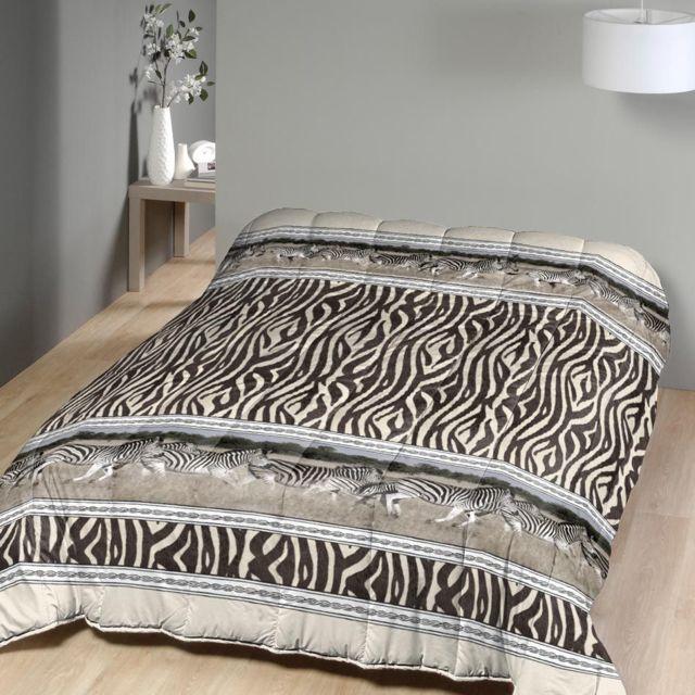 marque generique couette imprim e 240x260 cm z bres pas cher achat vente couettes. Black Bedroom Furniture Sets. Home Design Ideas