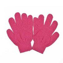 Aurore Beaute - Aurore Beauté : 2 gants synthétiques Roses