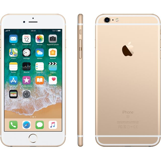 APPLE iPhone 6S Plus - 128 Go - MKUF2ZD/A - Or