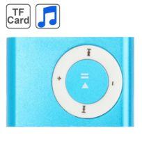 Wewoo - Lecteur Mp3 carte Tf Micro Sd Mp3 avec clip en métal