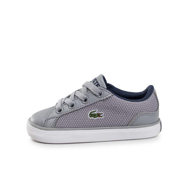 86039d6776 Lacoste - Lerond L Bébé Grise - pas cher Achat / Vente Chaussures ...