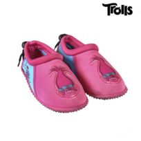 Tongs Enfant Fille Trolls Rose du 26 au 35