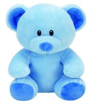 TY - Peluche Baby - Lullaby l'ours bleu 20 cm