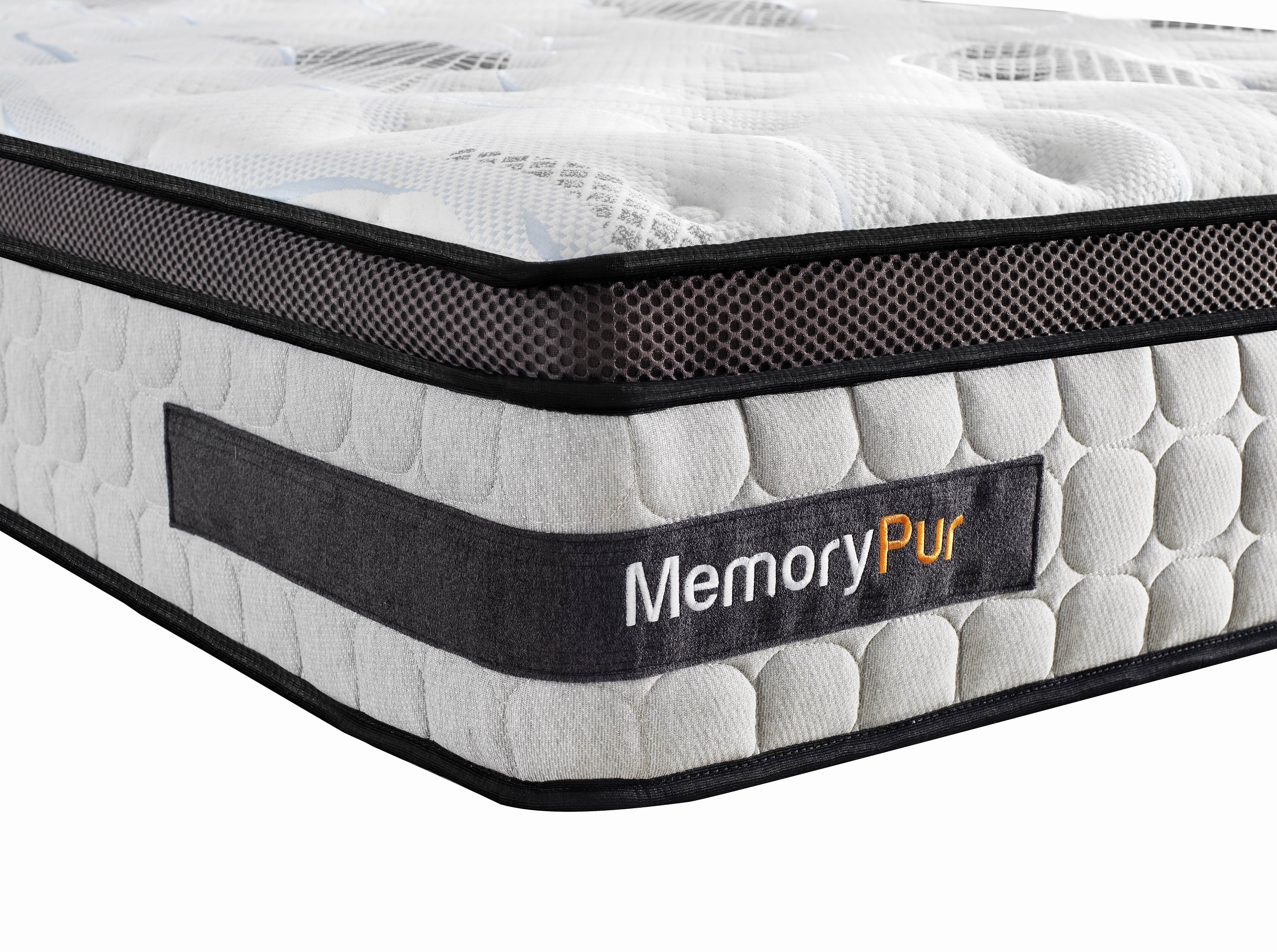 memorypur matelas ressorts sur matelas m moire de forme gel latex h32 cm perfection. Black Bedroom Furniture Sets. Home Design Ideas