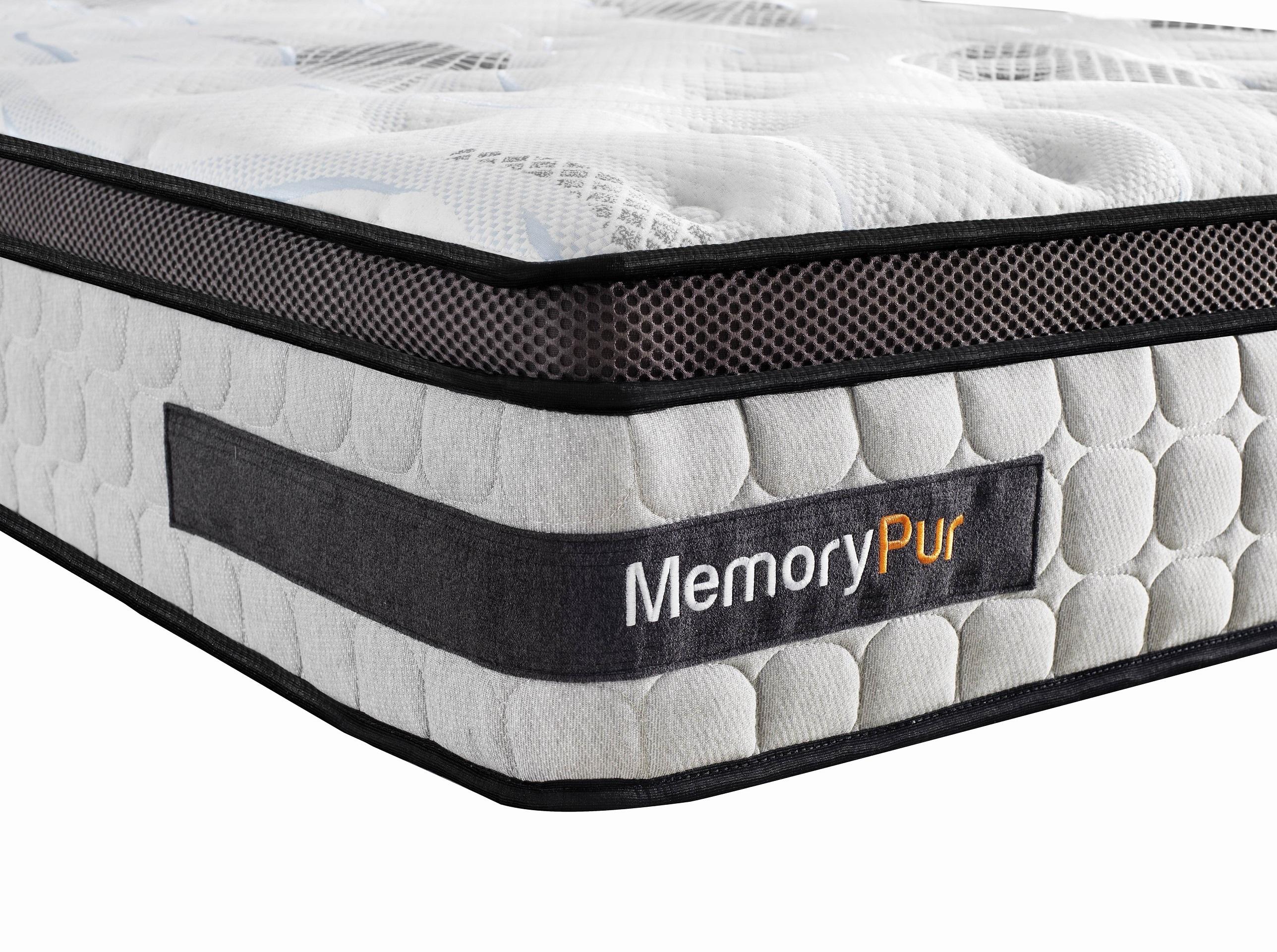 memorypur matelas ressorts sur matelas m moire de forme gel latex h32 cm perfection. Black Bedroom Furniture Sets. Home Design Ideas