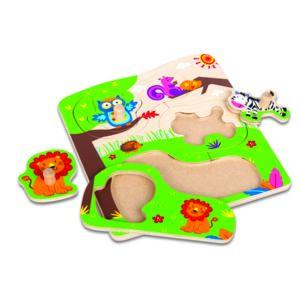 Carrefour baby puzzle safari en bois pour b b ty59875 - Piscina bebe carrefour ...