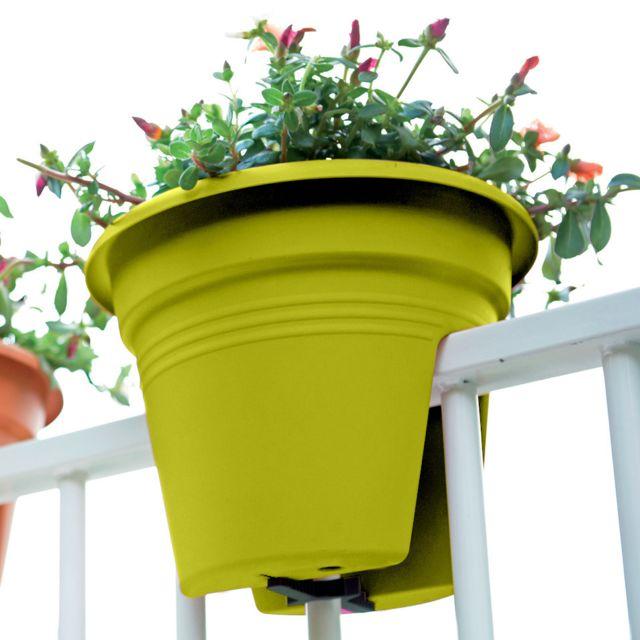 Jardinière spécial balcon 55cm anis Nc - 0cm x 0cm x 0cm
