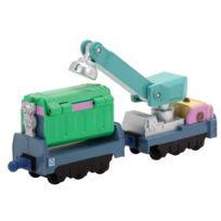 Chuggington - Die-cast - Les Wagons De Recyclage - VÉHICULES Miniatures 6 Cm