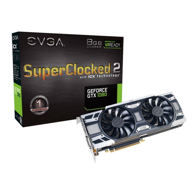 EVGA GeForce GTX 1080 SC2 GAMING iCX