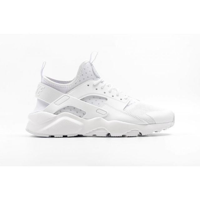 9707db35da785 Nike - Basket Air Huarache Run Ultra Blanc 819685-101-47 - 12.5 - pas cher  Achat   Vente Baskets homme - RueDuCommerce