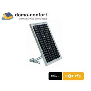 Somfy   Panneau Solaire De Remplacement Solarset Pr Porte De Garage/portail