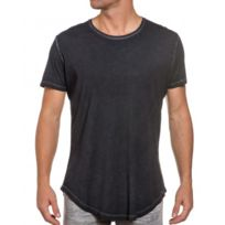 French Kick - Tee-shirt manches courtes oversize gris
