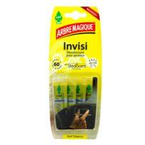 ARBREMAGIQUE - ARBRE MAGIQUE® Invisi. Lot 4 diffuseurs aérateur Anti tabac