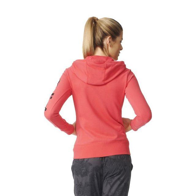 Adidas Femme Veste Capuche Essentials Achat À Cher Pas Linear r1rqzvf f2e60309142