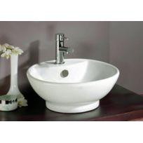 Evidence - Vasque ronde en céramique Tonio