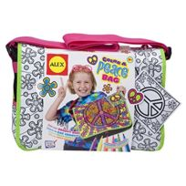 Alex Toys Craft - 509P - Colorie Ton Grand Sac - Peace And Love