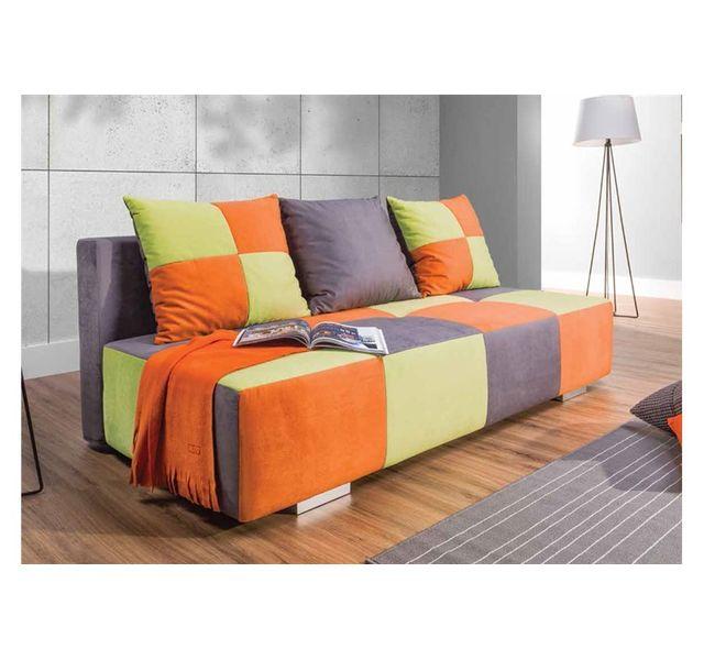 Canapé Multicolore Design Convertible Chloe Ezgi Achat fIgY6bv7ym