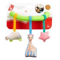 Vulli - Sophie la girafe - Arche de voiture ventouse Sophie la Girafe avec hochet