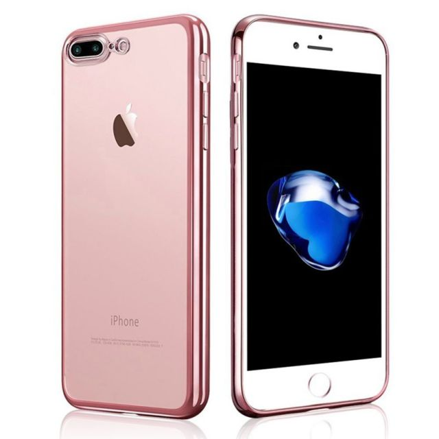coque iphone 7 or rose